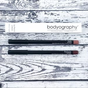 Bodyography Lip Pencil Set Pouty & Rosewood Nude